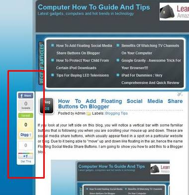 how to add social media share buttons to website