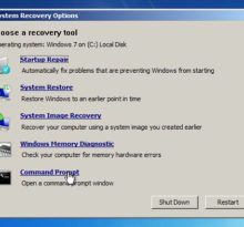 windows 7 recovery tools