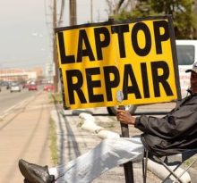 laptop needs repairing