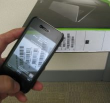 smartphone use as barcode scanner
